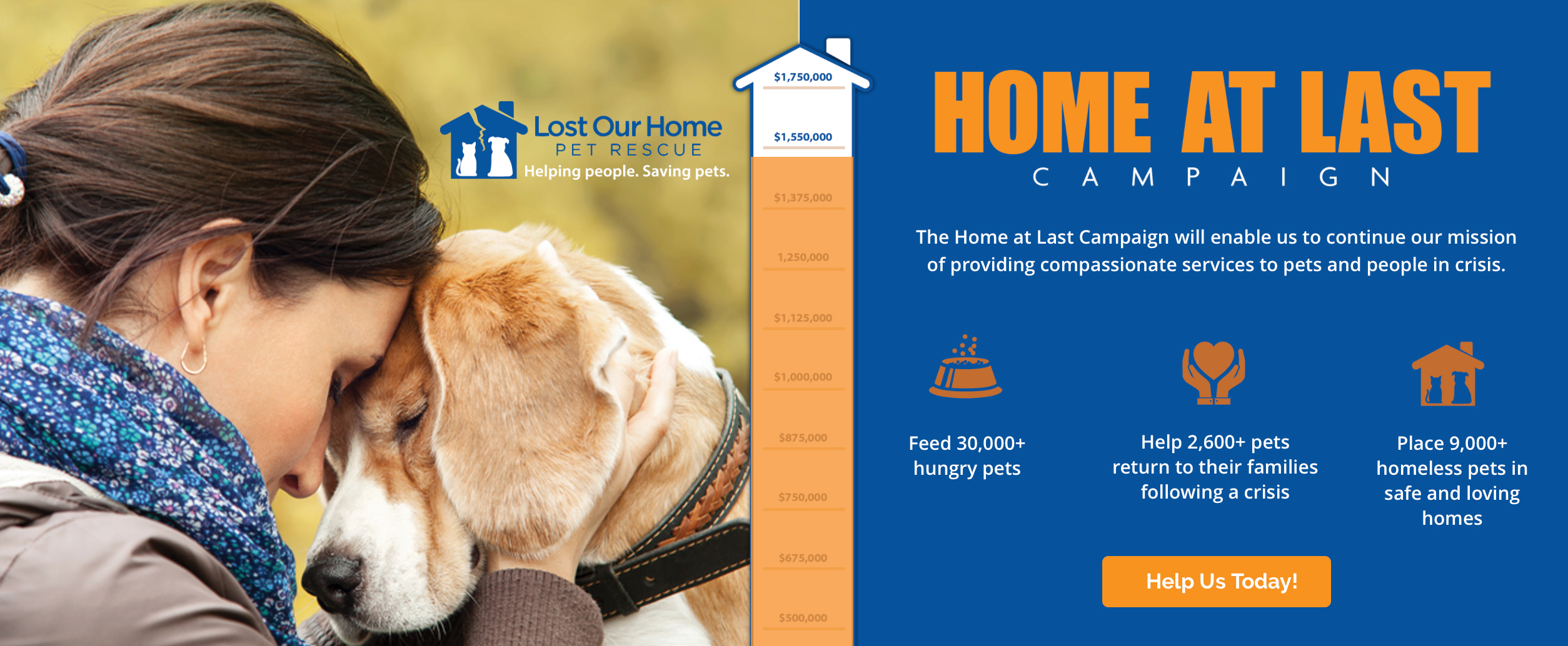 82e47d5fc4a6 Lost Our Home | Helping people. Saving pets.